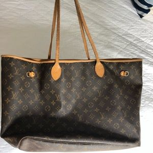 Louis Vuitton Neverfull tote shoulder bag